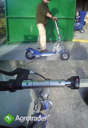 SKUTER ELEKTRYCZNY hulajnoga: silnik 24V, 18 km/h - zdjęcie 1