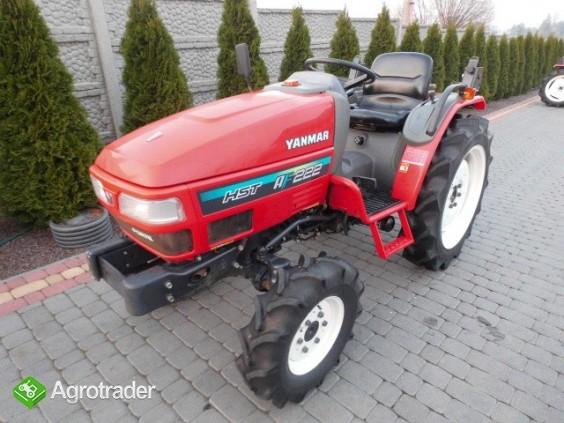 Yanmar AF 222 4x4 22KM mini traktor Super stan - zdjęcie 1