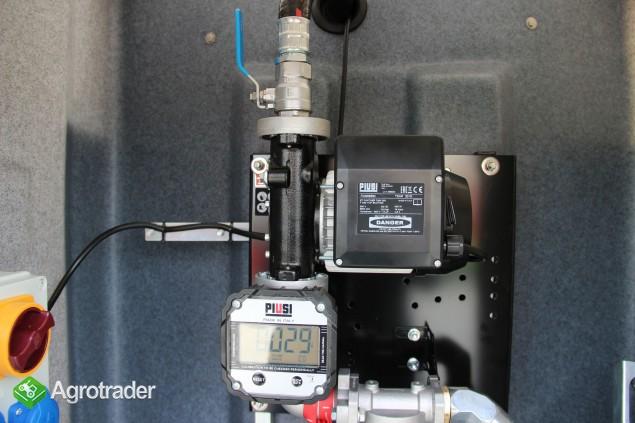 Zbiornik dwupłaszczowy na paliwo on ropę fortis 3000 L cpn  - zdjęcie 6