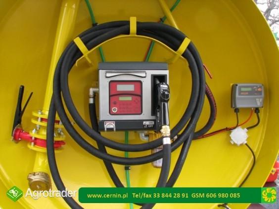 Mobilna stacja paliw - przyczepa zbiornik paliwa