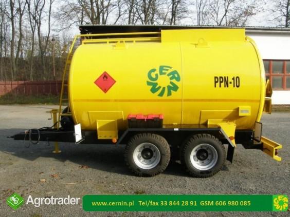 Zbiornik na paliwo 5000 litrów na przyczepie  - zdjęcie 7