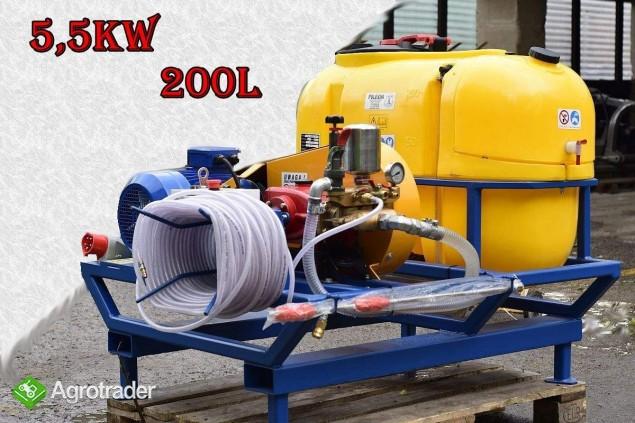 OPRYSKIWACZ elektryczny/myjka 400V  POLEXIM200E-400V: 200l 30-70l/min
