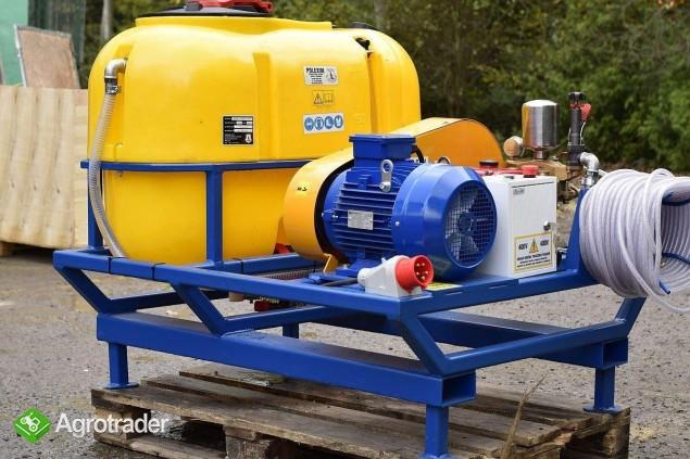 OPRYSKIWACZ elektryczny/myjka 400V  POLEXIM200E-400V: 200l 30-70l/min - zdjęcie 2