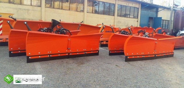 Pług składany do odśnieżania odśnieżarka nowy 2m do śniegu do traktora