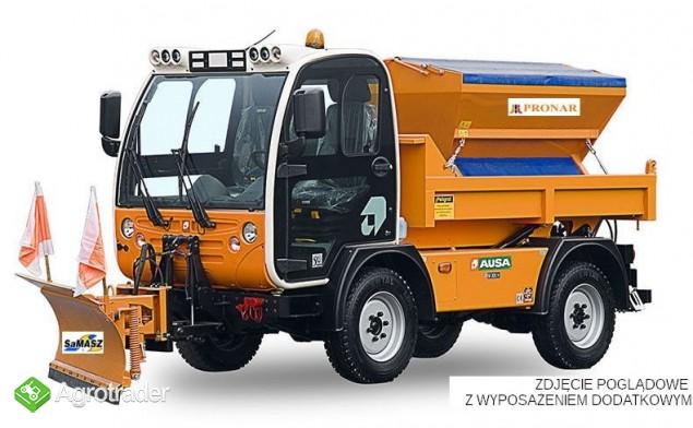 Pojazd specjalistyczny AUSA M250 HX4 komunalny terenowy unimog - zdjęcie 7