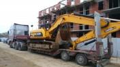 Transport koparek ładowarek maszyn  JCB KOMATSU DOOSAN
