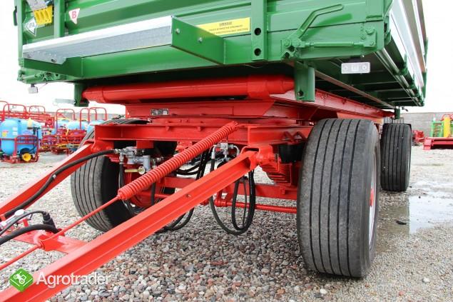 Przyczepa wywrotka 8 ton HL 8011 przyczepy wywrotka jak nowa paletowa - zdjęcie 3