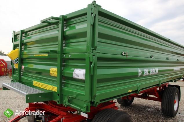 Przyczepa wywrotka 8 ton HL 8011 przyczepy wywrotka jak nowa paletowa - zdjęcie 6