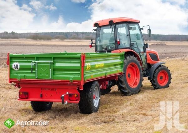 przyczepa rolnicza jednoosiowa Pronar T 654/2 - zdjęcie 7