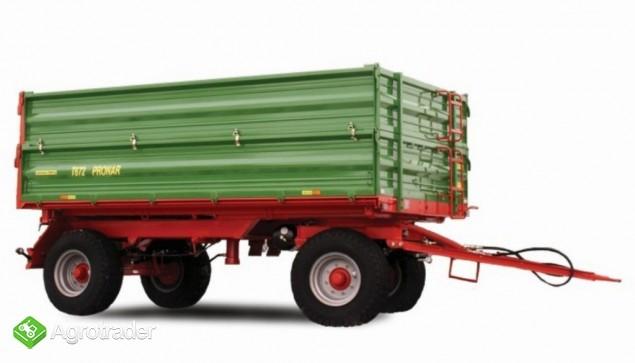 przyczepa rolnicza dwuosiowa Pronar T672 - zdjęcie 2