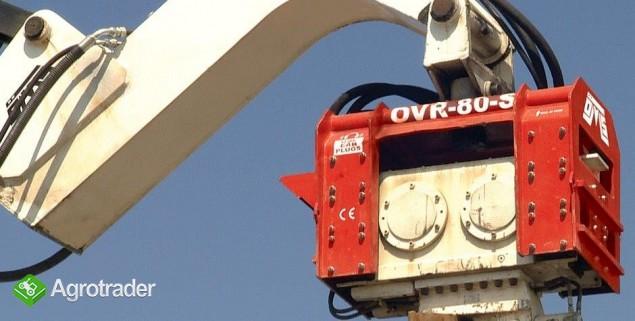 Używany Wibromłot OVR 80S na koparkę - zdjęcie 2