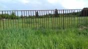 Panele ogrodzeniowe metalowa ze slupkami.