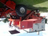Kombajn zbożowy Bizon Super Z056 z sieczkarn, garażowany, 1 właściciel