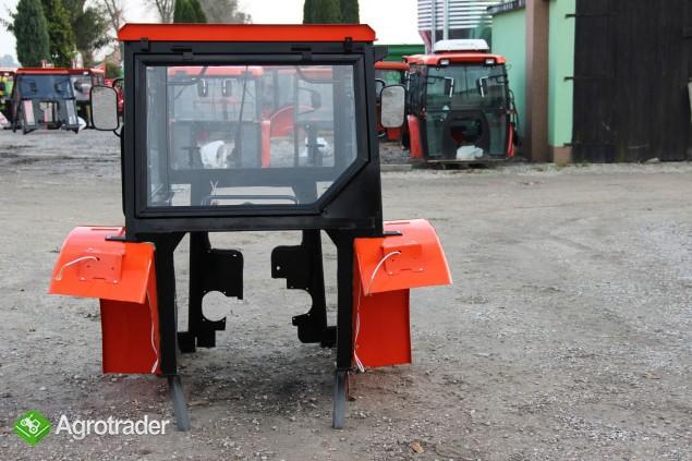 Kabina kabiny sadownicze ciągnikowa MF Szyszka  sadownik - zdjęcie 4
