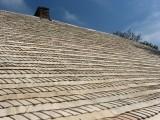 Dachy z wióra Drewniane dachy z gontu wióra osikowego