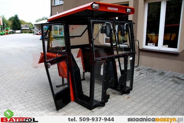 Kabina MF 255 Ursus 3512 NAGLAK metalowe błotniki (drzwi na koło) - zdjęcie 7