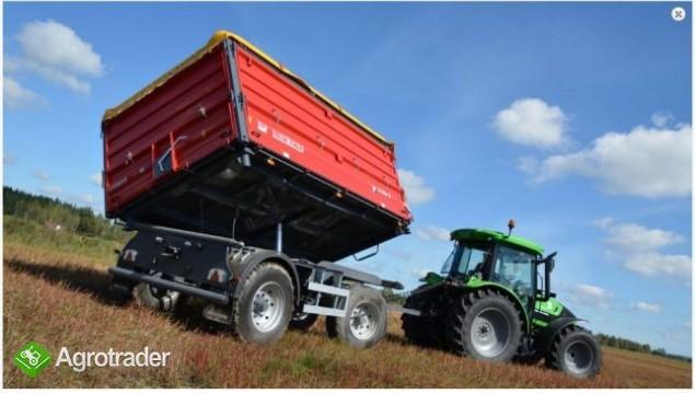 Przyczepa rolnicza Metal-Fach T711/2 – 10t - zdjęcie 4