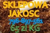 tytoń Papierosowy super niteczki 65 zł za kg
