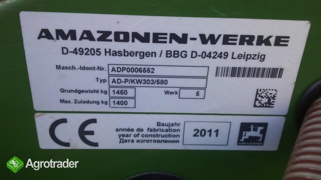 Agregat uprawowo-siewny AMAZONE 3m KG 3000 KW AD-P Super talerzowy 11r - zdjęcie 2