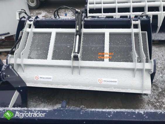 HIT Łyżka do zadawania pasz FK MACHINERY z frezem hydraulicznym i inne - zdjęcie 1