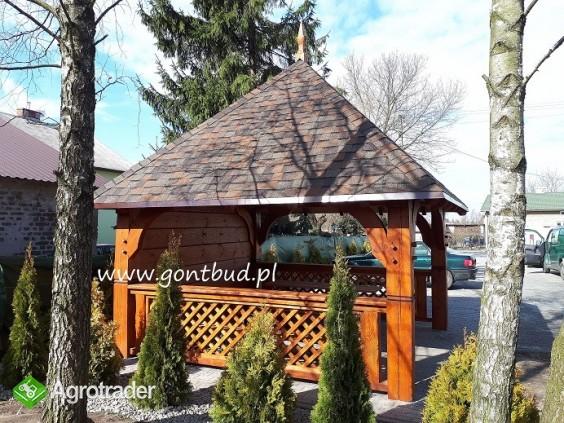 altanka+ściany+gonty ( wiaty drewniane garaż altana ) gontbud.pl - zdjęcie 3