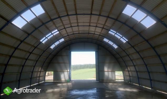 HALA stalowa łukowa hangar magazynowy 10,8 x 50