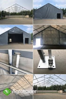 Całoroczna Hala namiotowa 5m × 12m × 2,5m/3,41m - zdjęcie 5