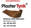 HIT, PROMOCJA PlasterTynk- elastyczna deska elewacyjna