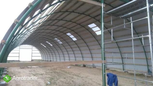 HALA tunelowa konstrukcja stalowa blacha 10,8 x 27 - zdjęcie 2