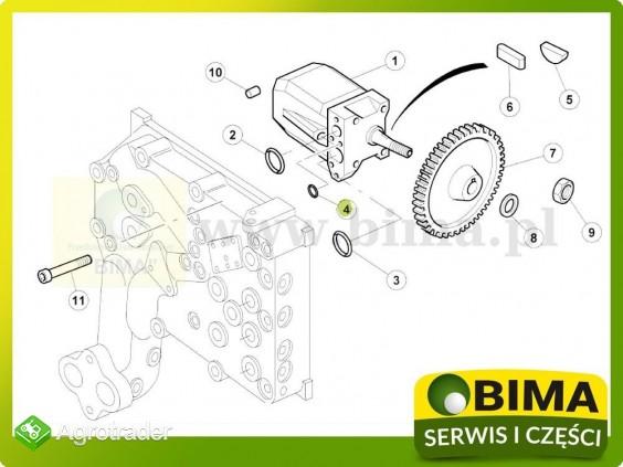 Oring układu hydraulicznego Renault CLAAS Ares 550,556 - zdjęcie 1