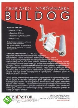 Grabiarko-Wyrówniarka Buldog