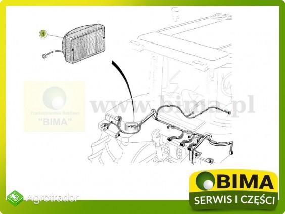 Lampa robocza na błotnik tylny Renault CLAAS Atles 946 - zdjęcie 2
