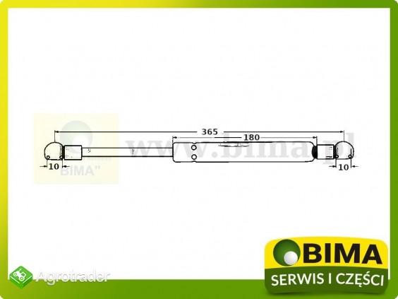 Amortyzator tylnej szyby Renault CLAAS Cergos 350,355 - zdjęcie 1