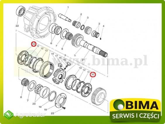 Nakładka koła rewers synchronizator Massey Ferguson 6245 - zdjęcie 1