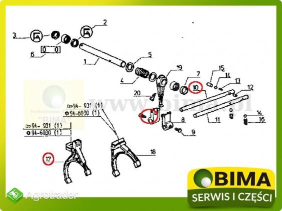 Używane widełki z blokadą Renault CLAAS 95-14,103-12 - zdjęcie 2