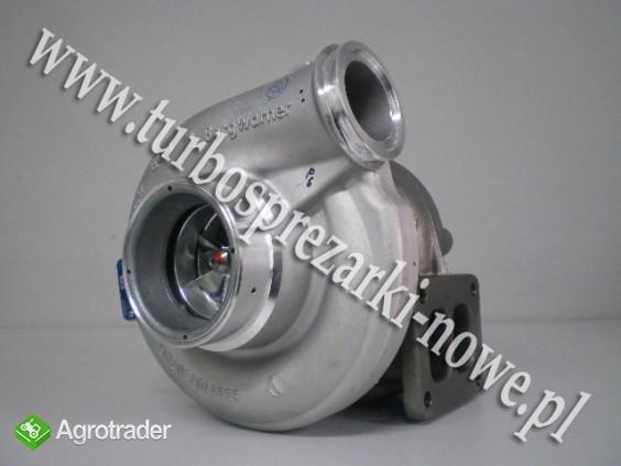 MAN - Turbosprężarka BorgWarner KKK 12.9 2836326 /  4033219 /  3593896