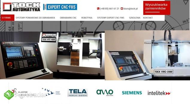 PRAKTYCZNE KSZTAŁCENIE CNC KOMPLETNE PRACOWNIE CNC  TOCK-AUTOMATYKA
