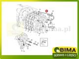 Wąż przewód hydrauliczny John Deere 6105MC,6105RC,6110