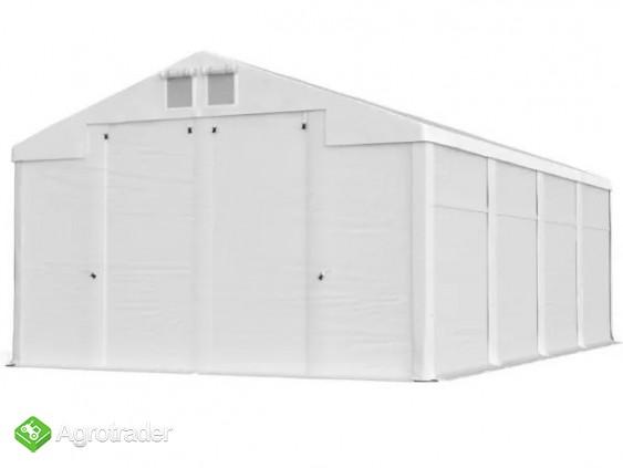 Namiot hala  4x5x2m magzynowa handlowa wiata garaż MTB - zdjęcie 1