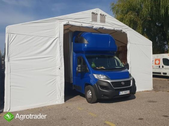 Mocny namiot magazynowy MTB Warsztat Garaż 5x7x2,5