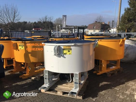 NAJWYŻSZA JAKOŚĆ betoniarka mixer KOŁASZEWSKI ciągnikowa HYDRAULICZNE - zdjęcie 2