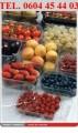 Pojemniki na owoce , borówki , truskawki , inne