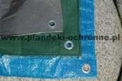 Plandeka rolnicza przeciwdeszczowa 4x5 wodoodporna